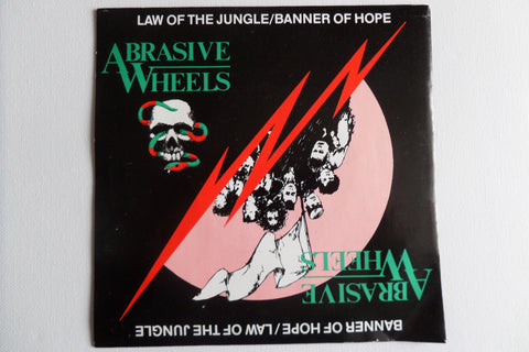 "ABRASIVE WHEELS banner of hope 7"" G+ EX"