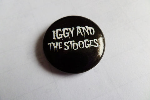 IGGY & THE STOOGES (official) PROTO PUNK BADGE