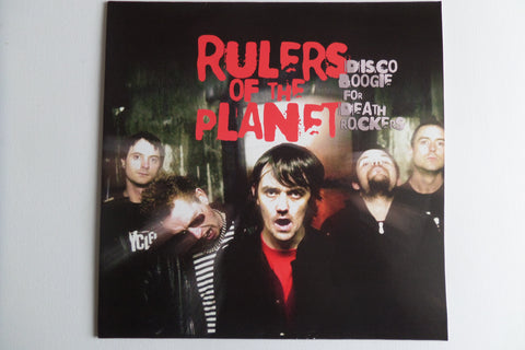 RULERS OF THE PLANET disco boogie for death rockers LP (Horror Punk/Psychobilly) only £3.99 !