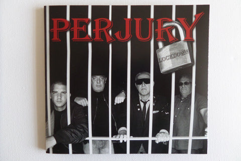 PERJURY lockdown CD digipak (ex WARRIORS )