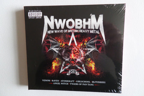 v/a NWOBHM 2CD set of UK80s metal ONLY £2.99