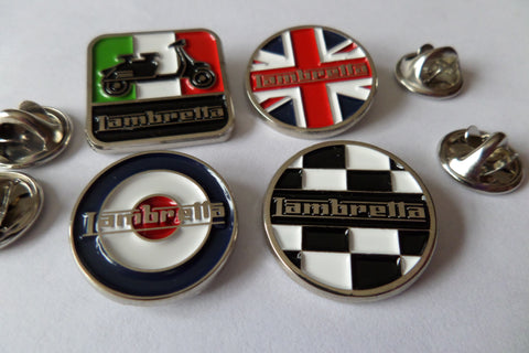 LAMBRETTA OFFICIAL METAL BADGES - SALE!!! £2.50ea