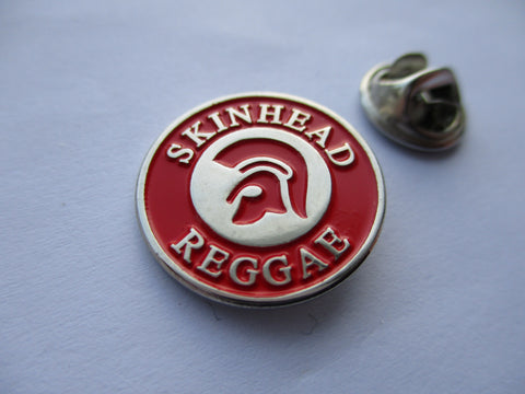 SKINHEAD REGGAE small  SKA METAL BADGE £2.99ea