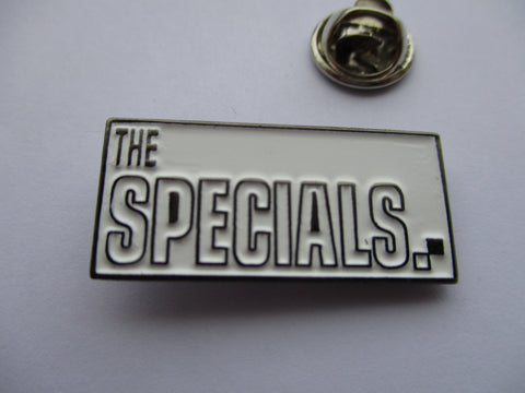 THE SPECIALS b&w SKA METAL BADGE 2tone