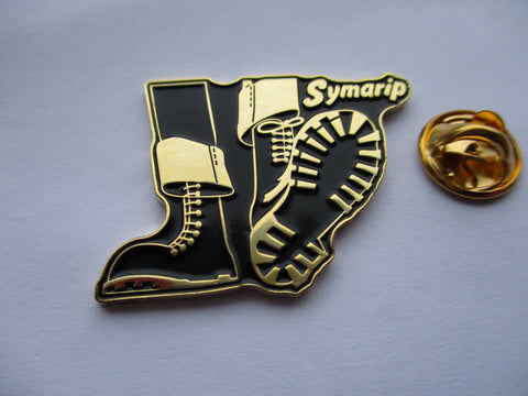 SYMARIP skinhead moonstomp (gold) SKA METAL BADGE