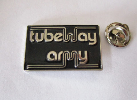 TUBEWAY ARMY post punk METAL BADGE