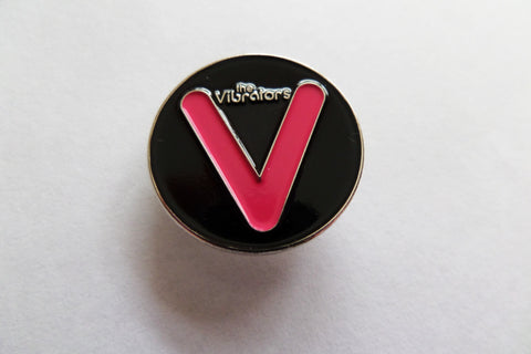 THE VIBRATORS PUNK METAL BADGE few only - Savage Amusement