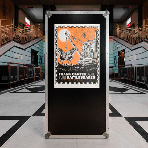 Show Poster, Alexandra Palace Orange Print (Numbered)