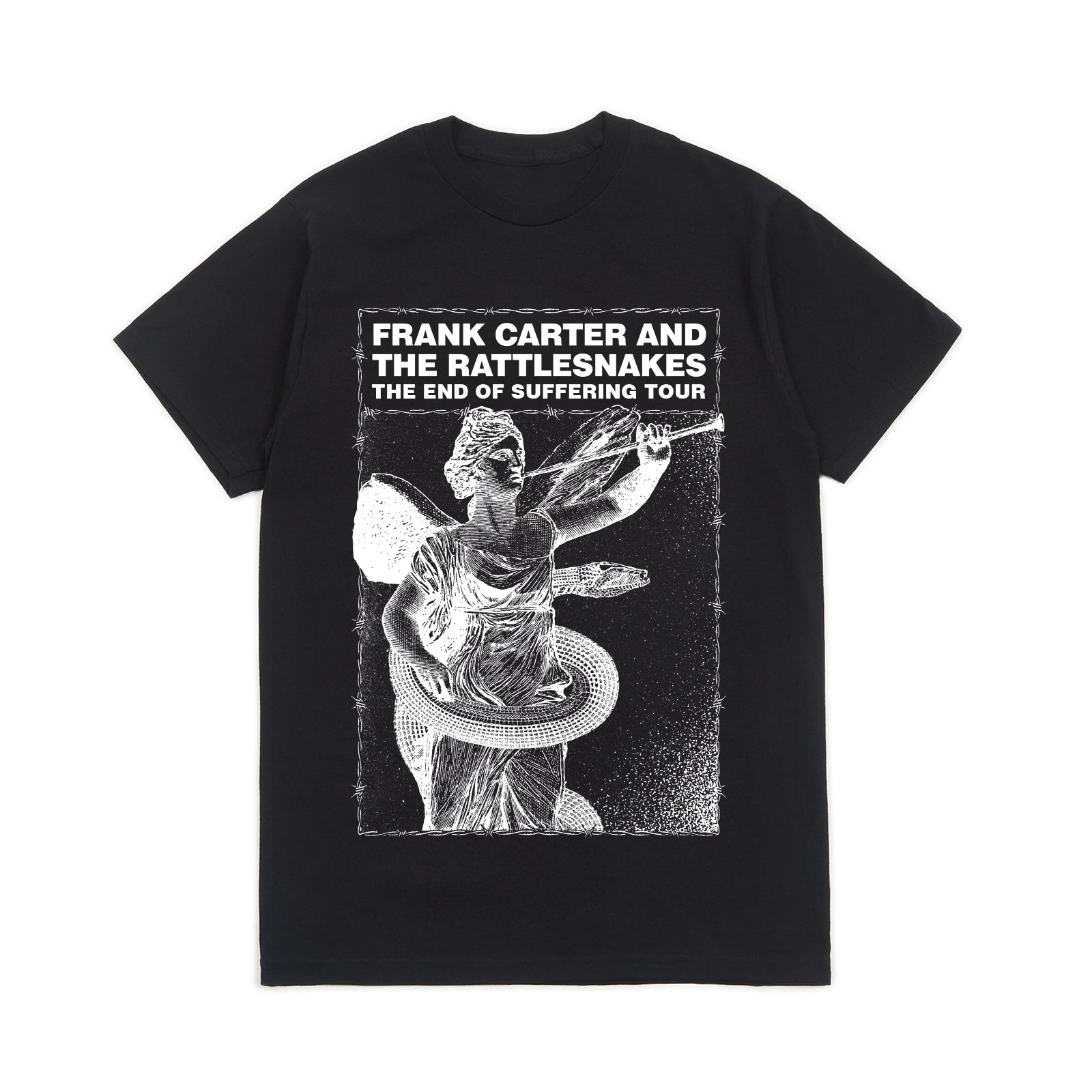 EOS Tour 2020 Black Tee (White Print)