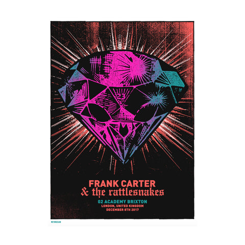 Brixton 8/12/17 (Signed) Screen Print