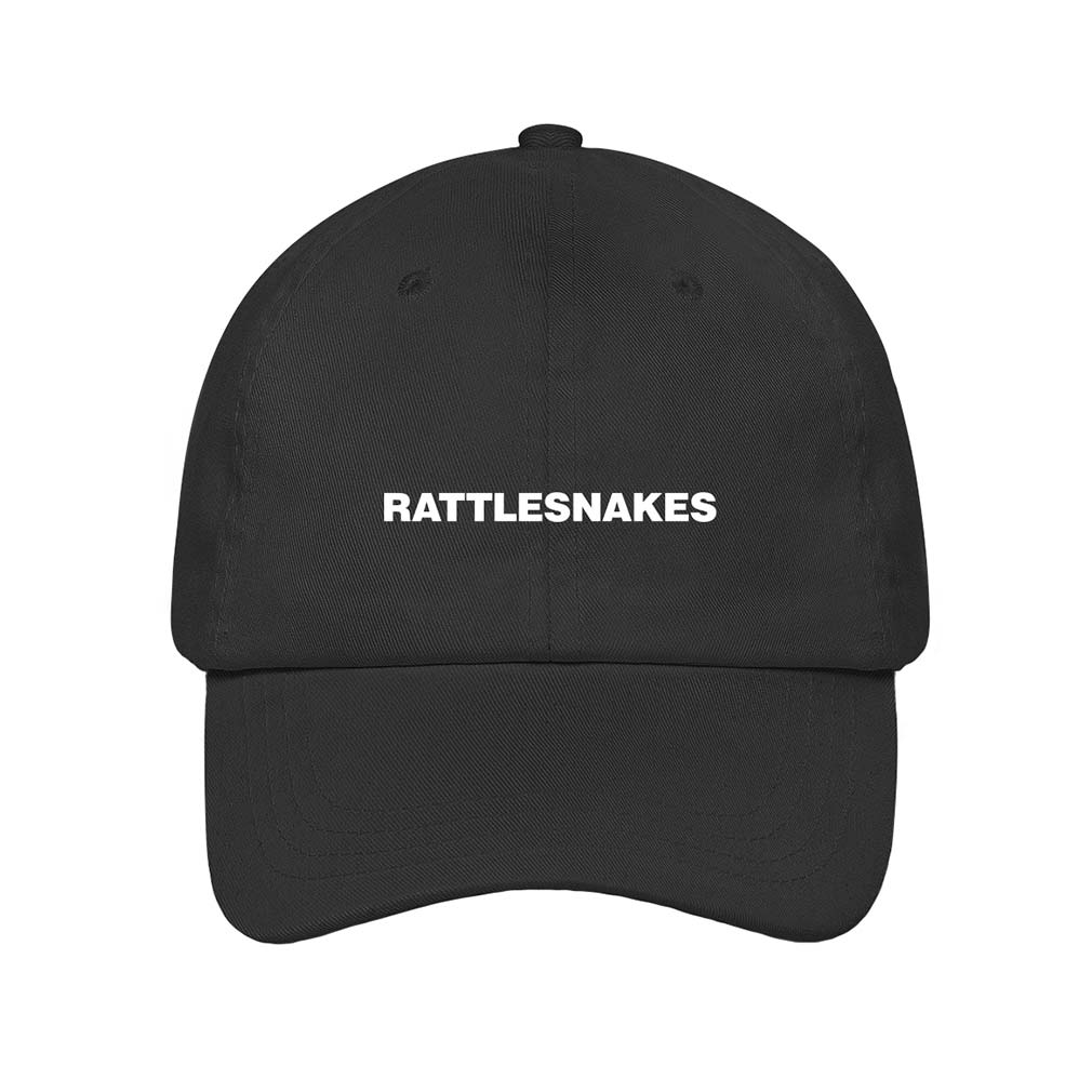 Rattlesnakes Dad Hat (Black)