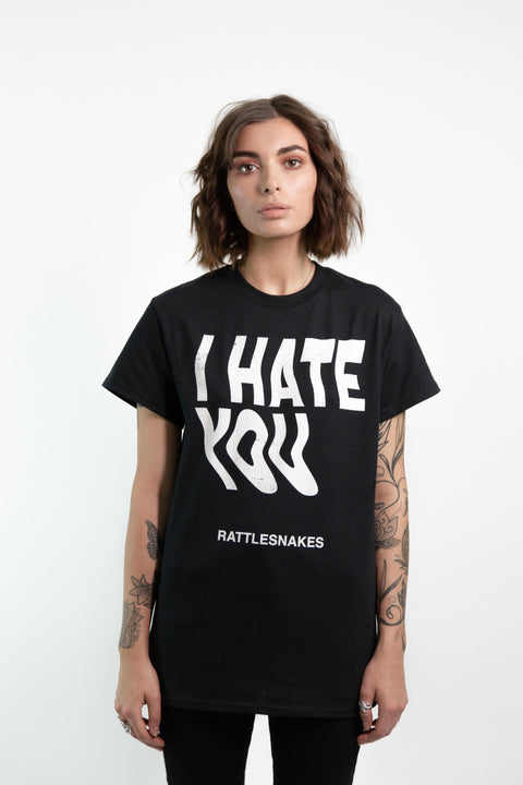 I Hate You Copy Tee (Black)