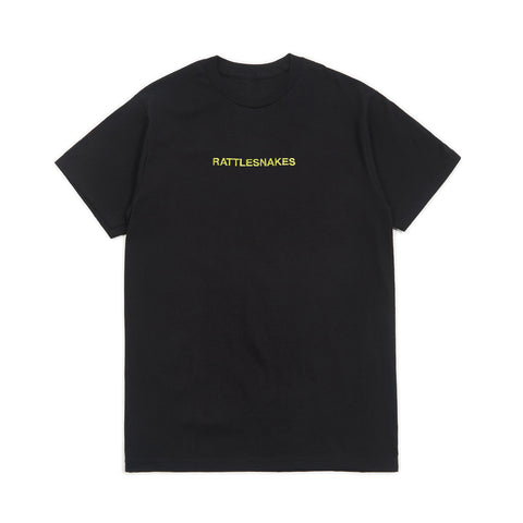 Rattlesnakes Embroidery Tee (Chartreuse)