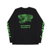 Snakehead - Black Longsleeve (Green) - NEW!