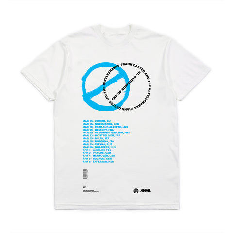 End Of Suffering EU Tour '19 Tee