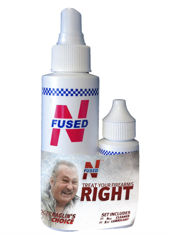 Roger Raglin NFUSED® Weapons Cleaner/Lubricant Bonus Pak - 4oz and 1oz