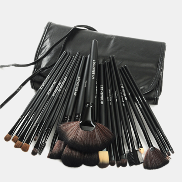 24 Piece Makeup Brush Sets