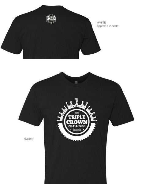 TRIPLE CROWN CHALLENGE T-Shirts