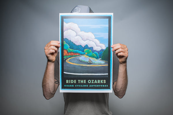 103 | RIDE THE OZARKS Print