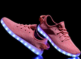 Pink LED Light Up Shoes by Rave KixX!! Hottest style of 2016-17!