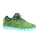 Neon Green Light Up Sneakers by RAVE KIXX!! Hottest Styles of 2016-17