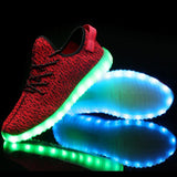 RED LED Light Up Shoes by Rave Kixx (Hottest style of 2018-19)!