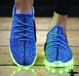 Blue LED Light up Shoes! Hottest styles of 2016-17!
