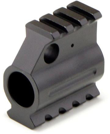 "Gas Block (for 0.75"" barrel) with Picatinny Rail, sloped"