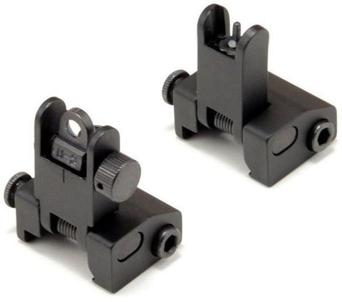 Vertical Rapid-Transition Peep Sights