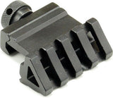 45-Degree Angled Picatinny/Weaver Adapter