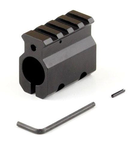 "Gas Block (0.75"") with Low Picatinny Rail"