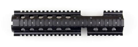 "Upgrade Picatinny Quad-Rail Handguard (mounts to AR-15/M16 Delta Ring) (10"")"