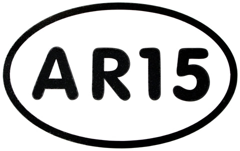 """AR15"" Vinyl Stickers"