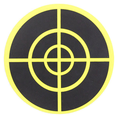 Stick-on High-Visibility Target (Yellow)