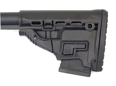 Adjustable Carbine Buttstock with Mag Storage (Mil-Spec)
