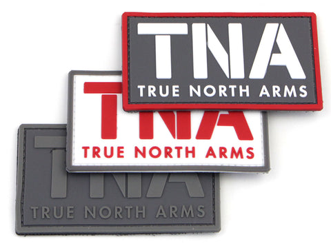 TNA True North Arms PVC Morale Patch w/Velcro