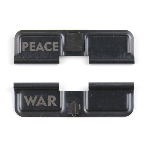 Engraved Ejection Port Dust Cover - War & Peace