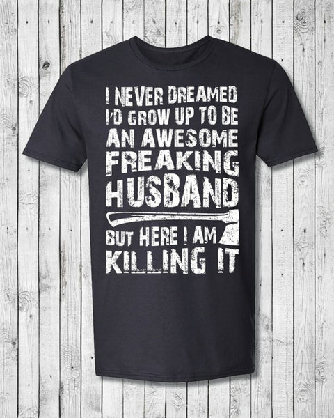 Awesome Husband Tee - Snazzies INC