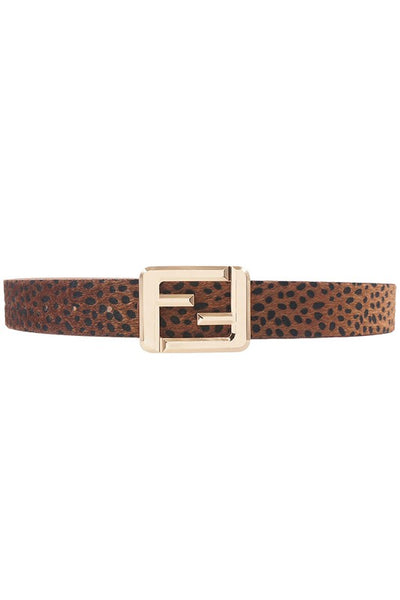 Fashion Cheetah Belt
