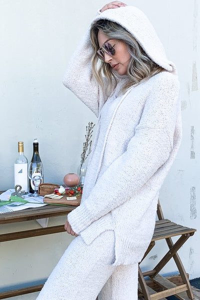 Soft Hoodie and Pants Sweater Sets
