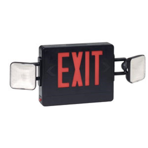 Combination Red Exit/Lighting Unit