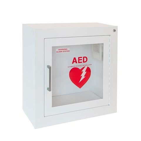 Life Start Series AED Surface Mount Wall Cabinet w/Siren