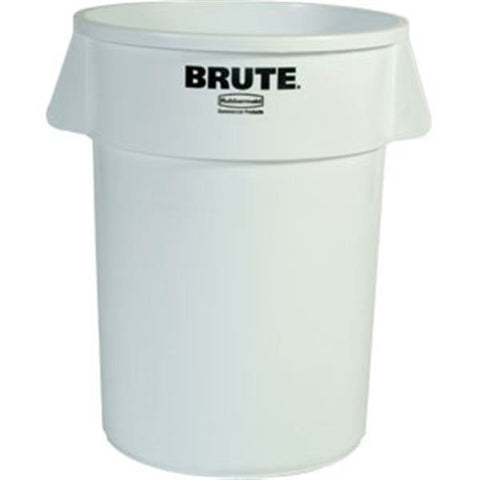 Brute Container, 44 Gal, White