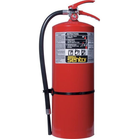 Ansul Sentry 20 lb ABC Fire Extinguisher w/ Wall Hook