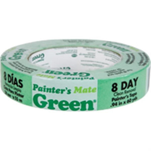 "Duck Brand Painter's Mate Green Masking Tape, 15/16"" x 60 yd"