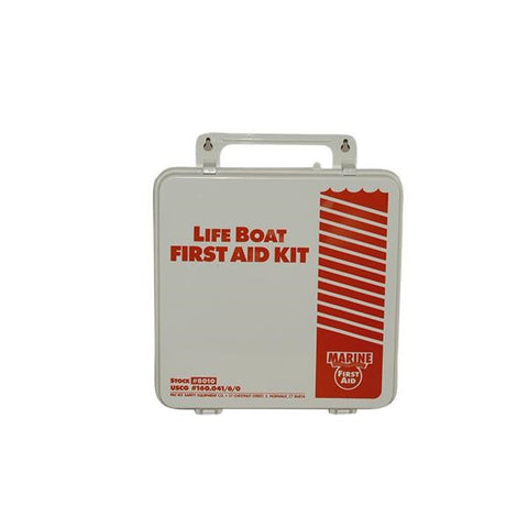 135-Piece Life Boat First Aid Kit (Plastic w/ Gasket)
