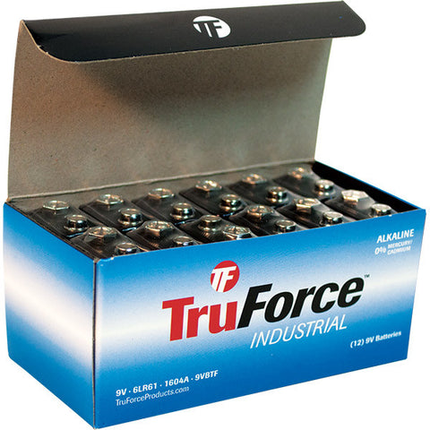 TruForce 9V Alkaline Batteries