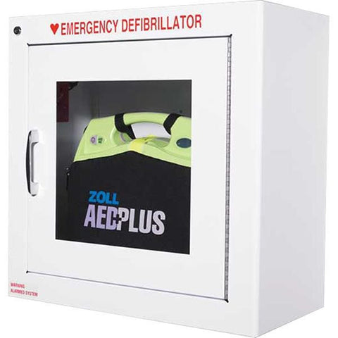 Zoll AED Metal Wall Cabinet w/ Alarm