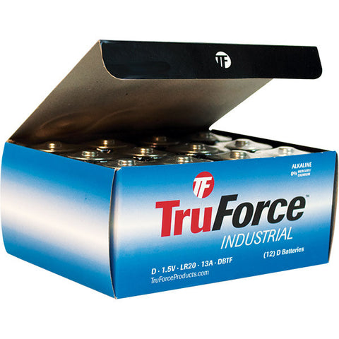 TruForce D Alkaline Batteries