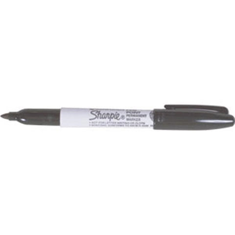 Sharpie Permanent Marking Pen, Extra Fine, Red